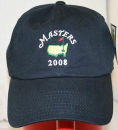 2008 American Needle Masters Augusta National Golf Cap Hat Rare Trevor Immelman