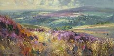 Rex PRESTON - Moorland View, Derbyshire