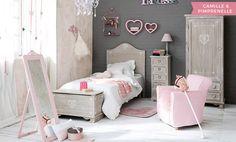 Dormitorio de niña - muebles e ideas de decoración   Maisons du Monde