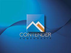 Logotipo criado pela Ópera para a Contender Engenharia da cidade de Fernandópolis   SP.