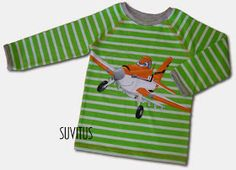 Hand painted Dusty Crophopper shirt to my son. By Suvitus Kids Rugs, Hand Painted, Handmade, Crafts, Shirts, Painting, Inspiration, Clothes, Home Decor