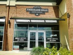 Land Of A Thousand Hills Coffee Company at Daleville Town Center - Drink Coffee, Do Good
