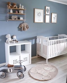 Likes, 13 Comments - Interior Baby Boy Room Decor, Baby Bedroom, Baby Boy Rooms, Grey Nursery Boy, Nursery Room, Sheep Nursery, Kids Room Design, Nursery Design, Decoration