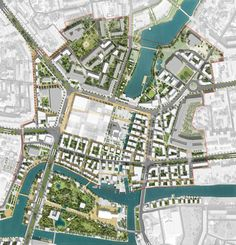 landscape architecture masterplan Masterplan - urban regeneration - Place at the International Urban Design Competition of Kaliningrad Heart of City. Off-The-Grid / Devillers / Wall / Architecture Architecture Site, Le Corbusier Architecture, Masterplan Architecture, Landscape Architecture Design, Architecture Graphics, Sustainable Architecture, Architecture Diagrams, Landscape Designs, Modern Architecture