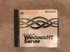 Microsoft Windows NT Server Enterprise Edition 4.0 with Key - Only $9.99!! #Microsoft