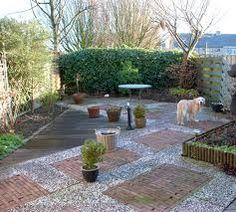 Small Garden Design in All Shapes and Sizes Concrete Pavers, Flagstone, Backyard Plan, Dog Runs, Small Garden Design, Walkway, Landscape, Outdoor Decor, Gras