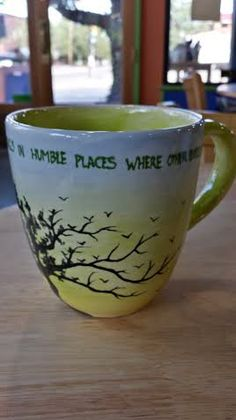 Sayings Mug Painted By Customer