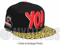 quality design cfb6a 0811b MTV Raps Jet Black Autumn Gold Siren Red Cheetah Print Visor New Era  Snapback