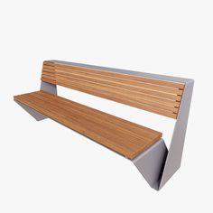 model of bennch street Outdoor Furniture, Outdoor Decor, 3d, Street, Model, Home Decor, Decoration Home, Room Decor
