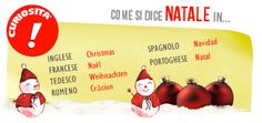 Natale in varie lingue - PAOLINE.it