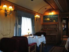 El Transcantabrico Clasico - luxury train (Spain), bookings at Luxury Train Club and Private Rail Cars by Train Chartering & Private Rail Cars, via Flickr
