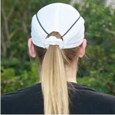 The Performance Scrunchie Cap® has a sleek design with its unstructured comfort and moisture wicking properties. Check it out at www.scruncheicap.com