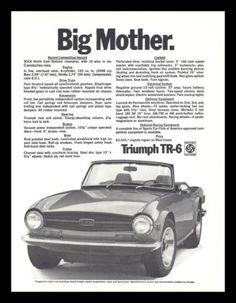 Triumph Motor, Triumph Tr3, Vintage Cars, Vintage Photos, Australian Cars, British Sports Cars, Car Advertising, Print Ads, Motor Car