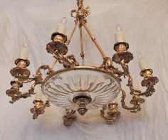David Skinner Antiques - Early 19th C. French Regency Chandelier