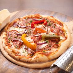 Best Pizza in Yorkshire at Buon Apps Winners of the Oliver Award, voted Italian Restaurant in Yorkshire. Best Cake Recipes, Pizza Recipes, Cooking Recipes, Pizza Buns, Pizza Cake, Le Diner, Good Pizza, Recipes For Beginners, 20 Min