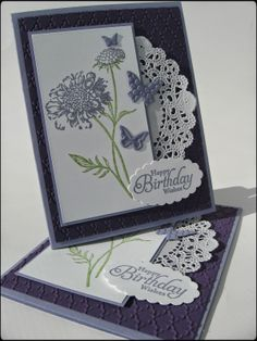 Will have to try this style with my new doily die!!