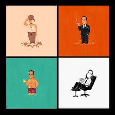 Mad Men Olly Moss prints