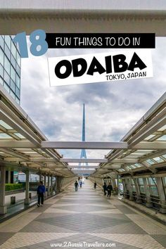 Exploring Odaiba, Tokyo Odaiba is a futuristic and fun part of Tokyo city. In this guide we introduce 18 great things to do in this part of the city together with all the best places to eat, play and stay. Japan Travel Guide, Asia Travel, Travel Guides, Tokyo Travel, Odaiba, Tokyo City, Tokyo Trip, Japan Trip, Play And Stay