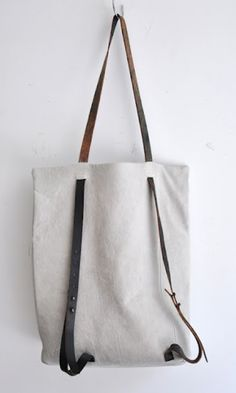 nice lines- Brilliant Design, purse or backpack- Put a zip pocket on the other side