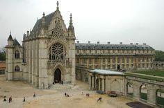 Chapel & Queen's pavilion - Chateau de Vincennes | Flickr - Photo Sharing!