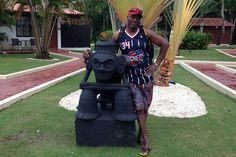 Me and my friend at Bluebay Villas Dorados #dominicanrepublic