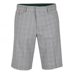 f6b234b33b697d Men's chequered golf Bermuda from elastic cotton blend stretch material for  extremely comfortable and good playing