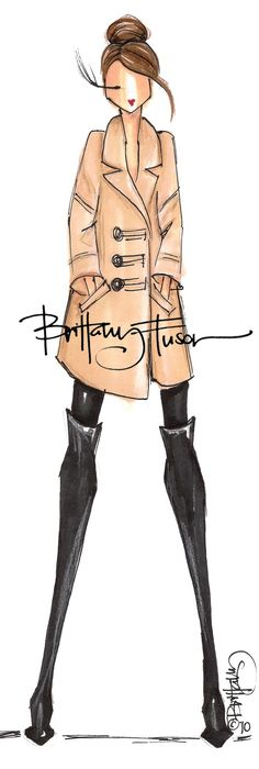 coat - brittany fuson
