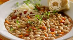 Slow Cooker Tomato And Herb White Beans :: Recipes :: Camellia Brand