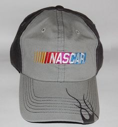 Nascar Two-Tone Gray Flame Hat by NASCAR. $9.99. Great for any Nascar Fan.