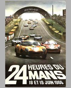 24 Hours Le Mans, Le Mans 24, La Mans, Vintage Racing, Vintage Cars, Vintage Style, Grand Prix F1, Up Auto, Course Automobile