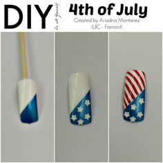 Today's ‪#‎LjicTuesTorial‬ is a 4th of July inspired nail design created by Ariadna M. from ‪#‎LJIC‬ - Fremont. Excellent job Ariadna & thank you for participating in this week's TuesTorial. For a closer look at each design visit, http://www.ljic.edu/Media/News/TabId/124/ArtMID/613/ArticleID/86/DIY--4-Fun-Looks-for-the-Season.aspx  LIKE: www.facebook.com/lajamesinternational
