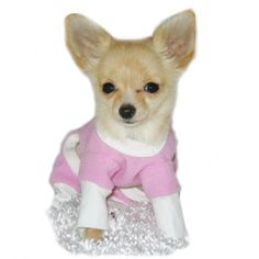 Pink Fleece Dog Pajamas