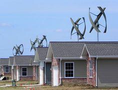 wind turbine houses
