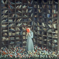 Official site of Ukrainian Fine Art Photographer Oleg Oprisco I Love Books, Good Books, Books To Read, Reading Art, World Of Books, Anime Comics, Book Nerd, Book Lovers, Book Worms