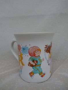 Vintage Cabbage Patch Kids Mug 1984 O.A.A.  CyberMonday sale! Save $10 off of any order $30 or more, for a limited time today only. Use coupon code: CYBERMONDAY2015