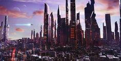 """sciencefictionworld:  """"New London"""" by Olly Ryder."""