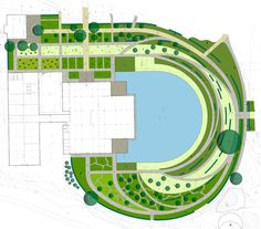 Grand scale garden design with privacy berms and a small for Master landscape home design pro