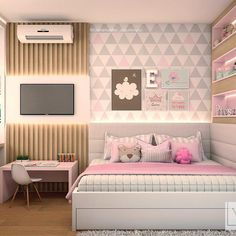 35 Beautiful Bedroom Design And Decor Ideas For Girl 35 B Teenage Girl Bedrooms Beautiful Bedroom Decor design Girl Ideas TeenageGirlBedrooms Bedroom Ideas For Teen Girls Tumblr, Bedroom Decor For Teen Girls, Teenage Girl Bedrooms, Teen Bedroom, Dream Bedroom, Bedroom Hacks, Teenage Girl Bedroom Designs, Cozy Bedroom, Teen Bedding Sets