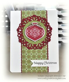 Crafty Creations by Beth: Christmas Cards