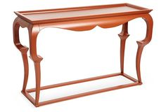 One Kings Lane - Showstoppers - Cassius Console, Red