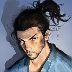 Kai Fine Art is an art website, shows painting and illustration works all over the world. Photoshop Face, Vagabond Manga, Art Of Fighting, Miyamoto Musashi, Naruto Characters, Shadowrun, Character Design, Fan Art, Illustration