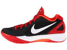Nike Volley Zoom Hyperspike Black/University Red/Total Crimson/White - 6pm.com