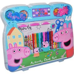 Set de Dibujo Jumbo Peppa Pig por 30 euros