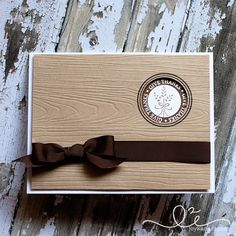 DeNami Woodgrain Give Thanks card by @Kanani K K K #thanksgiving #wheat