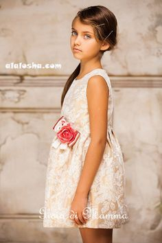 ALALOSHA: VOGUE ENFANTS: Gioia di Mamma FW2014/2015 lookbook