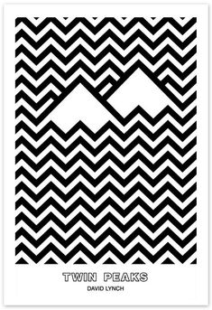 Image result for twin peaks minimalist poster