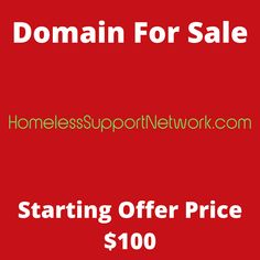HomelessSupportNetwork.com domain name for sale! Visit it now to purchase it!  #HomelessSupport #SupportNetwork #SupportSystem #Support #Homeless #domainforsale #domainname #domains #domainsale #domainnameforsale #website K Store, Budgeting, Names, Website, Live, Tent, Homemade Tea, Luxury Watches, Bonsai
