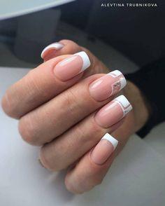 Installation of acrylic or gel nails - My Nails Hair And Nails, My Nails, Semi Permanente, Glow Nails, Rose Gold Nails, Neutral Nails, Colorful Nail Designs, Bridal Nails, Stylish Nails