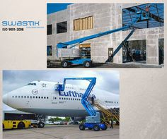 Articulating Boom Lift For sale and rental. Makes your construction tasks more easier with our wide range of lifting construction equipments. Reach us for quality controlled and safest lifting equipments- Swastik Corporation.  Mail Now : swastikcorporation5@gmail.com