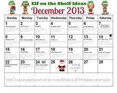 elf calendar 600